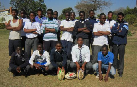 The twenty young coaches from Manzini who attended Saturday's Youth Coaches Workshop at Ngwane Park High School